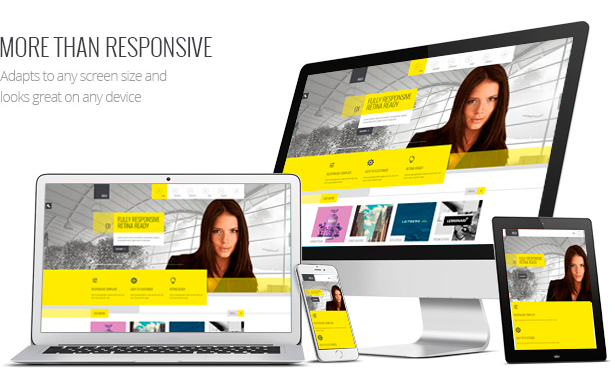 Amilia - Multipurpose One & Multi Page WP Theme - 5