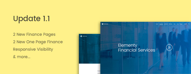 Elementy - Multipurpose One & Multi Page Template - 11