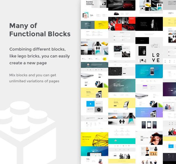 Elementy - Multipurpose One & Multi Page WordPress Theme - 2