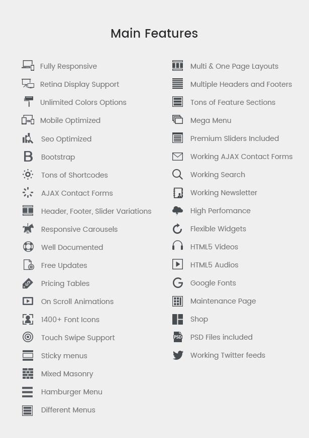 Elementy - Multipurpose One & Multi Page WordPress Theme - 3