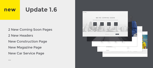 Haswell - Multipurpose One & Multi Page Template - 4