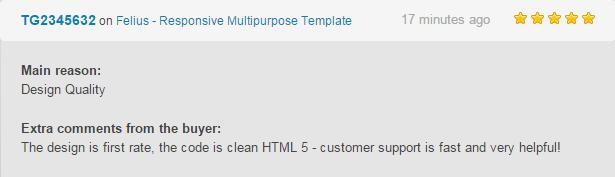 Felius - Responsive Multipurpose Template