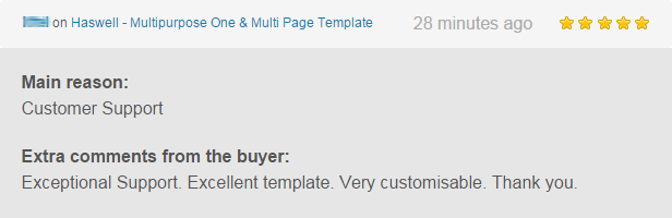 Haswell - Multipurpose One & Multi Page Template - 17